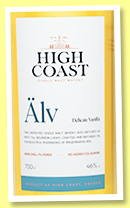 High Coast 'Älv' (46%, OB, Sweden, +/-2020)