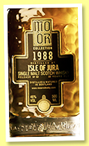Isle of Jura 22 yo 1988/2010 (46%, Mo Or Collection, bourbon hogshead, cask #756, 352 bottles)