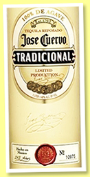 Jose Cuervo 'Traditicional Reposado' (38%, OB, +/-2017)