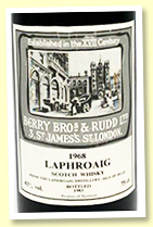 Laphroaig 1968/1983 (43%, Berry Brothers)