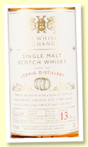 Ledaig 13 yo 2005/2019 (57.4%, The Whisky Exchange, cask #900174, sherry butt, 622 bottles)