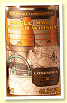 Longmorn 10 yo (48.3%, That Boutique-y Whisky Co 'Batch 3', 1793 bottles)