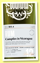 Nicaragua 12 yo 2004 (57.5%, Scotch Malt Whisky Society, #R8.4, refill bourbon, 'Campfire in NIcaragua')