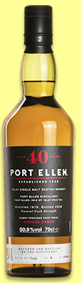 Port Ellen 40 yo 1979/2020 '9 Rogue Casks' (50.9%, OB, Untold Stories, 1380 bottles)