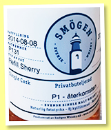 Smögen 2014/2018 (58.8%, OB, Sweden, Hasse Peters, refill sherry, cask P131, 48 bottles)