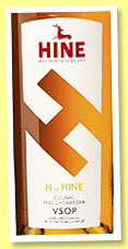 Hine 'H by Hine' (40%, OB, fine champagne, +/-2019)
