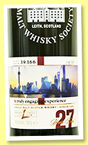Linkwood 27 yo (54.6%, Scotch Malt Whisky Society for Whisky L.,, 'A truly engaging experience', #39.166, 152 bottles, +/-2018)