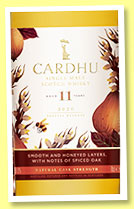 Cardhu 11 yo 2008/2020 (56%, OB, Special Releases 2020, refill, new and ex-bourbon American oak)