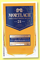 Mortlach 21 yo 1999/2020 (56.9%, OB, Special Releases 2020, finished in PX and oloroso seasoned casks)