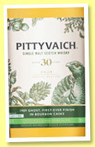 Pittyvaich 30 yo 1989/2020 (50.8%, OB, Special Releases 2020)