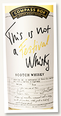 This Is Not a Festival Whisky (49%, Compass Box, excusive to LMDW, blended Scotch, 1260 bottles, 2020)