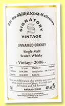 Unnamed Orkney 12 yo 2006/2019 (46%, Signatory Vintage, Un-chillfiltered Collection, hogshead, cask #DRU 17/A6211+12)