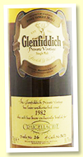 Glenfiddich 1982 (58.7%, OB 'Private Vintage' for Craigellachie Hotel, cask #3672)