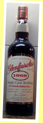 Glenfarclas 1968/2004 'For Friends Edition 1' (50.1%, OB, Private, cask #688, 126 bottles)