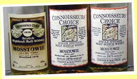 Mosstowie 12yo 1970 (40%, G&M Connoisseur's Choice, old brown label)