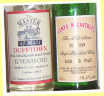 Dufftown 12yo 1980/1993 (43%, The Master of Malt, cask #19877)