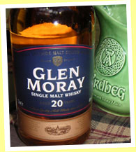 Glen Moray 20yo (40%, OB)