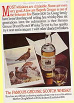Famous Grouse ad
