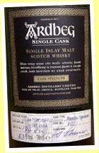 Ardbeg 32yo 1972/2004 (45.3%, OB for Germany, bourbon cask #861, 216 bottles)