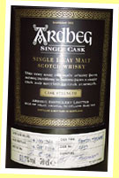 Ardbeg 30yo 1974/2004 (53.7%, OB, MC for Italy, cask #2739, 134 bottles)