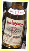 Inchgower 12yo 'De Luxe' (70 proof, OB, Arthur Bell's)