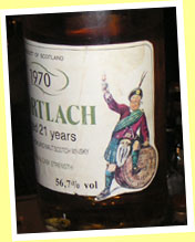 Mortlach 21yo 1970/1991 (56.7%, G&M for Intertrade)