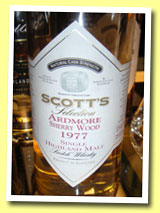 Ardmore 1977/2003 (58.1%, Scott's Selection)