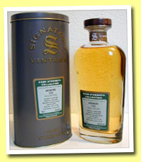 Ardmore 15yo 1990/2005 (58.6%, Signatory CS Coll., bourbon barrel #30013, 189 bottles)
