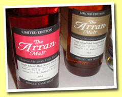 Arran 'Chateau Margaux Finish' (59.1%, OB, 317 bottles, b. 2005)