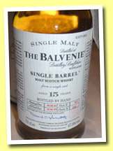 Balvenie 15yo 1989/2004 'Single Barrel' (47.8%, OB, cask #7633)