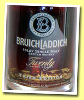 Bruichladdich Twenty Third Edition 'Islands' (46%, OB, 5 days Madeira hogshead 'ACE' 2005)