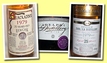 Caol Ila 25yo 1979/2004 (61.2%, Blackadder for Sun Favourite Taiwan, hogshead #5334, 44 bottles)