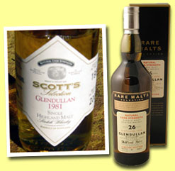 Glendullan 1981/2000 (55.5%, Scott's Selection)