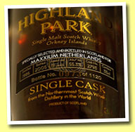 Highland Park 19yo 1986/2005 (55.3%, OB for Maxxium Holland, cask #2793, 1120 halves)