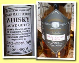 Macallan 1974/2001 (50.5%, Scott's Selection)