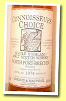 North Port-Brechin 1974/1993 (40%, G&M Connoisseur's Choice old map label)