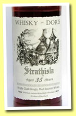 Strathisla 35yo 1969/2005 (56.3%, Whisky-Doris, sherry cask #2516, 90 bottles)