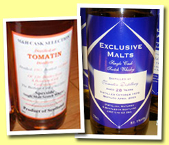 Tomatin 40yo 1965/2005 (44.9%, M&H Cask Selection, bourbon, 120 bottles)
