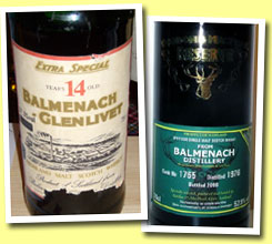 Balmenach-Glenlivet 14yo (57.5%, OB, early 1970's)