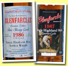 Glenfarclas 1986/2003 (43%, OB for Germany, fino sherry, 1800 bottles)