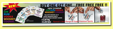 Bullseye Baggies 'Whiskey super premium' (40%, Little Drinks Company)
