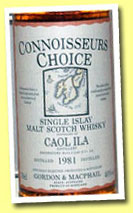 Caol Ila 1981/1996 (40%, Gordon & MacPhail CC, old map label)