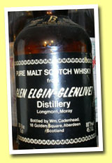 Glen Elgin 13yo 1965/1978 (45.7%, Cadenhead, black label, bottled October)