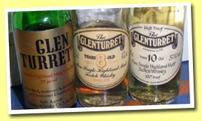 The Glenturret 8yo (43%, OB, 80's)