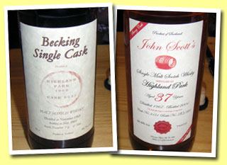 Highland Park 1968/2003 (40.1%, Duncan Taylor for Becking, cask #9535, 106 bottles)