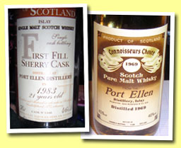 Port Ellen 21yo 1983/2004 (46%, Jean Boyer Best Cask, first fill sherry cask #1346)