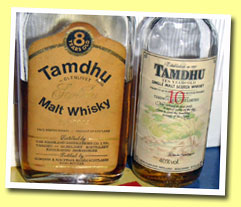 Tamdhu-Glenlivet 8yo (70° proof, Gordon & McPhail licensed bottling, 70's)