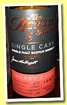 Arran 1997/2011 (56%, OB, sherry, cask #675, 599 bottles)