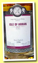 Isle of Arran 1996/2013 (56.3%, Malts of Scotland, sherry hogshead, cask #MoS 13002, 249 bottles)