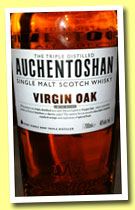 Auchentoshan 'Virgin Oak' (46%, OB, 2013)
